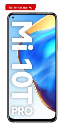 Xiaomi Mi 10T Pro 128GB schwarz / silber + Mi Band 5 für 39€ einmalig und 19,99€ monatlich im O2 Allnet Flat 12GB LTE 50Mbit/s