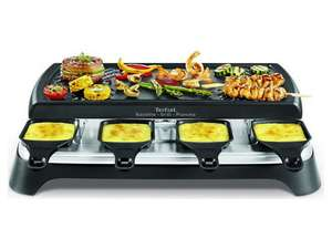 Tefal RE459812 Gourmet 8 Smart Raclette & Grill-Plancha | 3 in 1