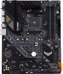 ASUS TUF Gaming B550-Plus Gaming ATX Mainboard (AM4, M.2, USB3.2, HDMI/DP, PCIe x16 4.0, Aura Sync RGB)