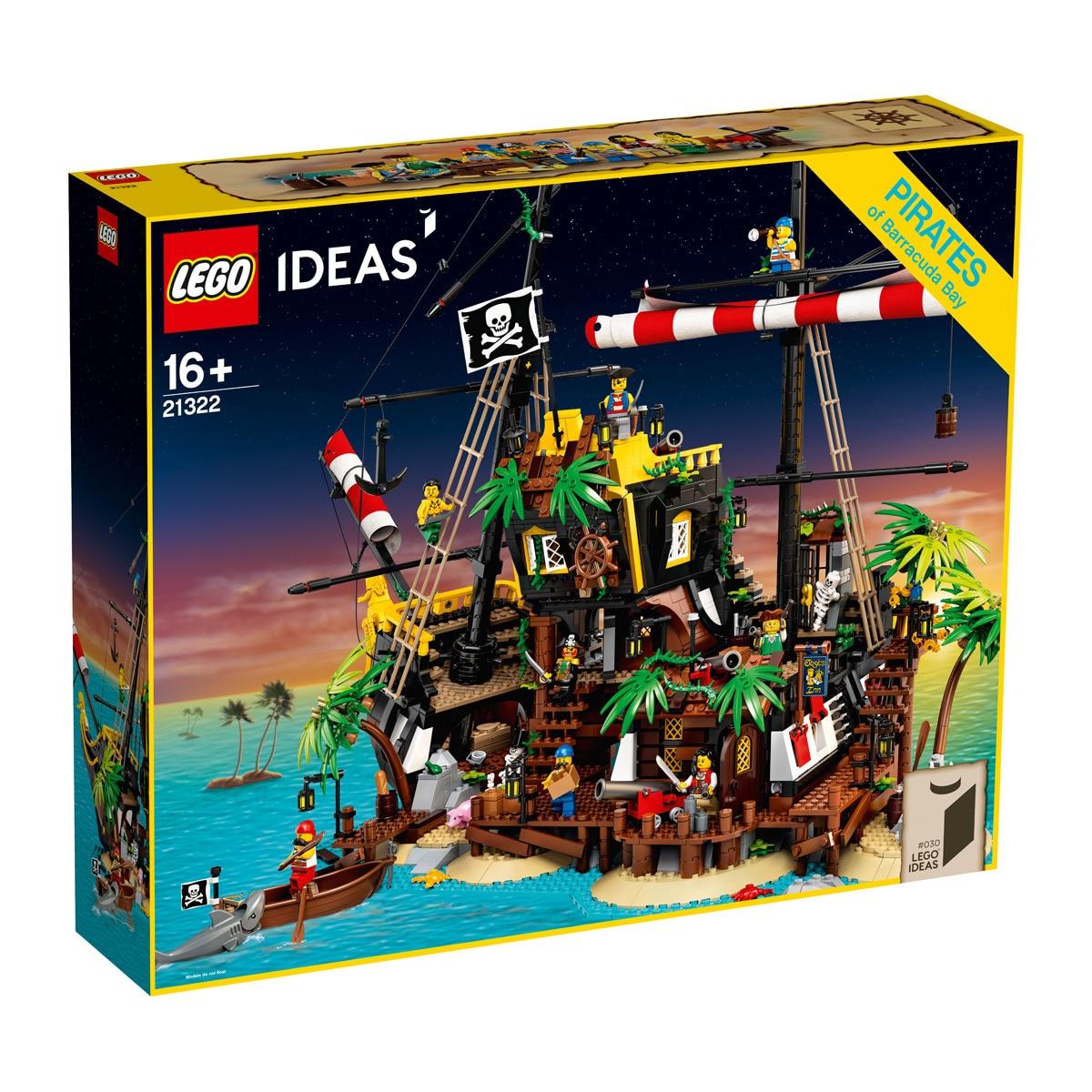 20% auf Lego bei el corte ingles u.a. Ideas 21322 Piraten der Barracuda-Buch, 75290 Cantina, 75192, 21324 Klemmbausteine