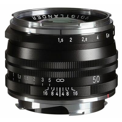 Voigtländer Nokton 50mm f/1,5 II VM M.C.asphärisch Leica M schwarz