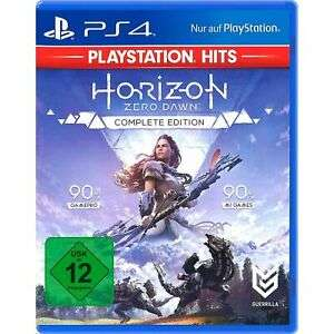 Sony PS4 Horizon Zero Dawn Complete Edition CD Videospiel DISC-Version für 9,99€ inkl. Versandkosten