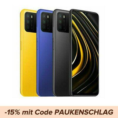 """[Ebay gshopper] Xiaomi Poco M3 globale Version (4/128GB, 6,53"""" IPS, 6000 mAh, 48MP Kamera, Snapdragon 662, Versand aus Deutschland)"""