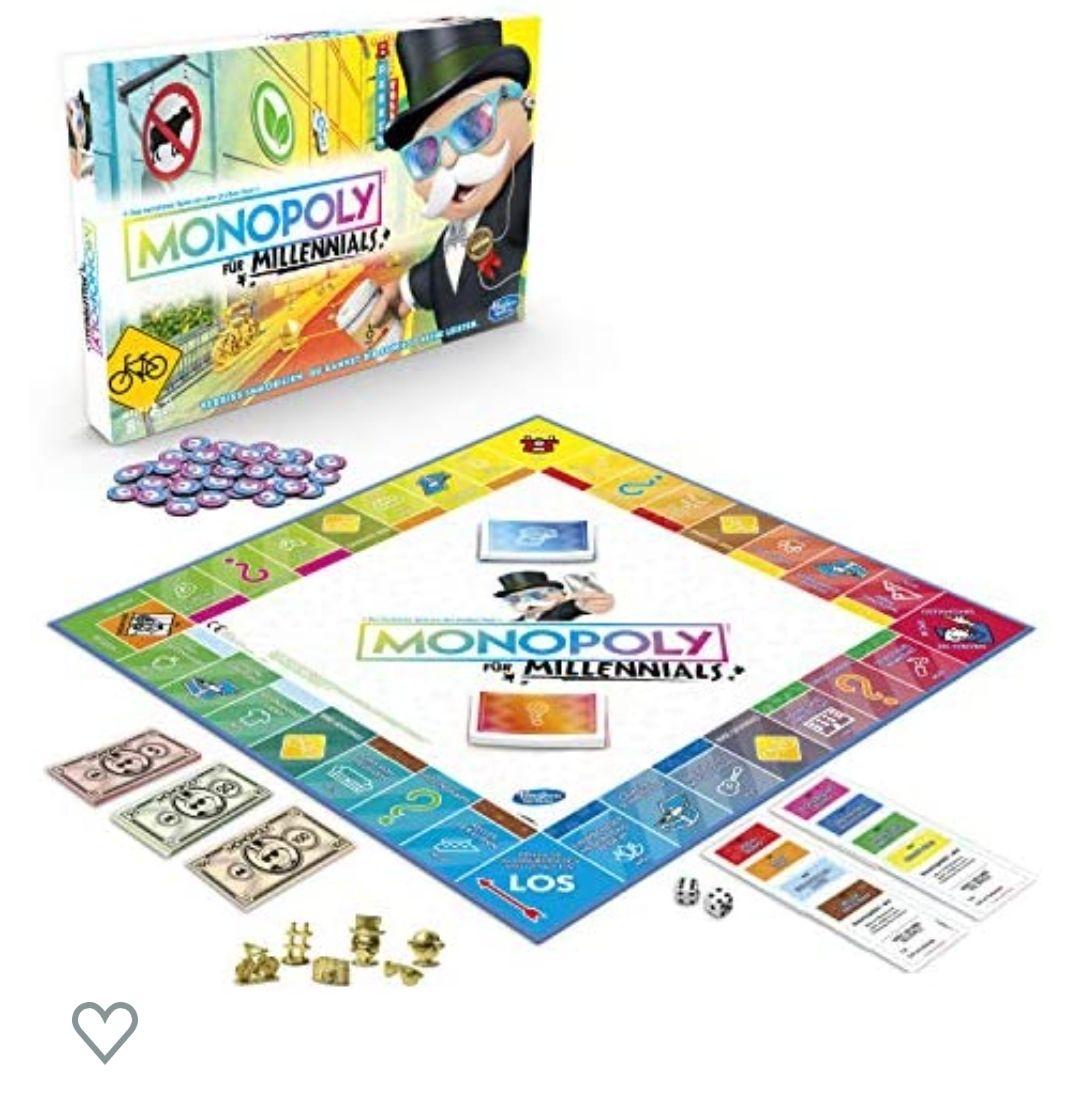 [Prime] Monopoly Millennials, Partyspiel - Hasbro