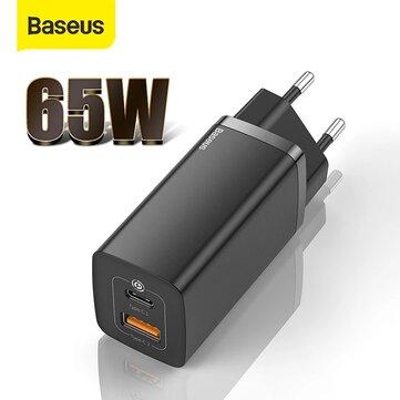 Baseus 65W USB-C GaN Ladegerät /Netzteil für 19,85€ ( Für z.B. Samsung S21 S20, iPhone, Apple Book Pro. etc.) )