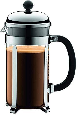[Amazon Prime] Bodum 1928-16 chambord Kaffeebereiter, 1,0 l / 34 oz - glänzend
