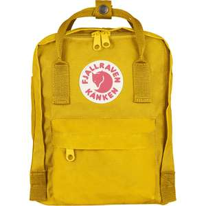 Fjällräven Kånken Mini in warm yellow (Rucksack mit 7l Volumen)