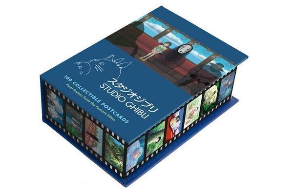 Postkarten-Box von Studio Ghibli mit 100 Motiven aus dem Film