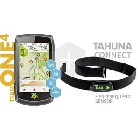 Teasi Tahuna One 4 - Fahrrad und Outdoor Navigation (inkl. HR Brustgurt)