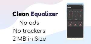 Clean Equalizer & Bass Booster Pro [Play Store]