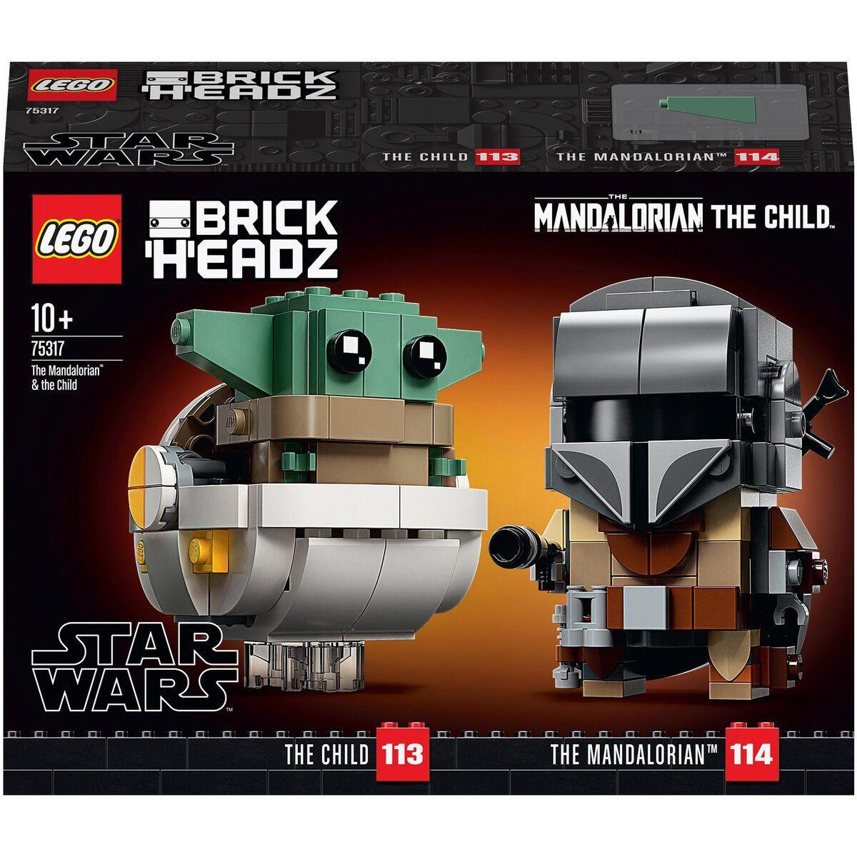 [Filialreservierung & Abholung] LEGO 75317 Brickheadz Der Mandalorianer und das Kind