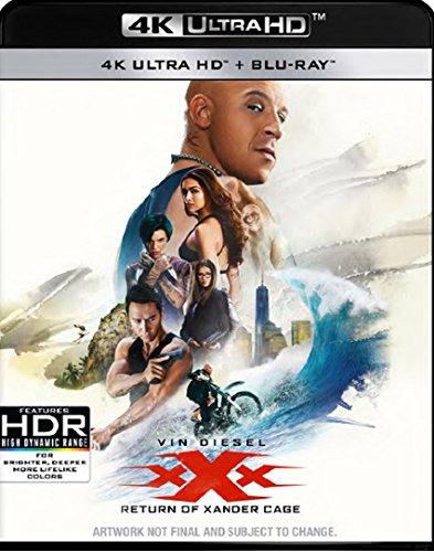 XXX: The Return Of Xander Cage (4K UHD Blu-ray) [PRIME]