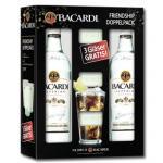 2 Pullen Bacardi + 3 Gläser für 19,99 Euro bei real,-