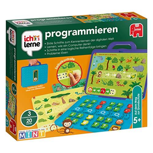 Jumbo Spiele, ich lerne programmieren, Lernspiel für Kinder, Ab 5 Jahren, (Prime)