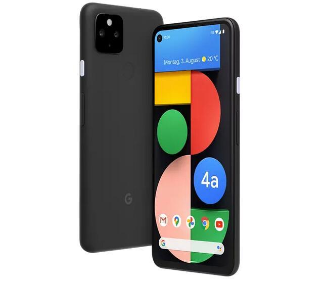 GOOGLE Pixel 4a mit 5G 128 GB Just Black Dual SIM
