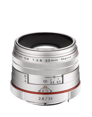Pentax HD DA 35mm F2.8 Limited Makro Objektiv APS-C silber