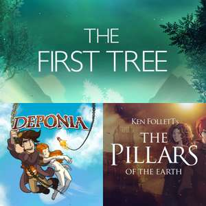 Deponia: The Complete Journey, The First Tree & The Pillars of the Earth - Kostenlos via Epic Games (15.04 - 22.04)