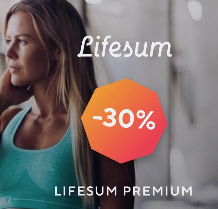 30% Rabatt auf 12 Monate Lifesum Premium