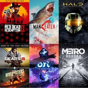 [Microsoft Island Xbox/PC Sale] Red Dead Redemption 2 (17€) Gears 5 GOTY (15€) Ori Collection (11€) Maneater (13€) Halo Master Chief (13€)