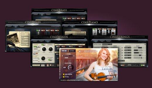 Cinesamples PRO COMPOSER TOOLSET 2 bei Native Instruments für -75%; Einzeln -50%; VST, AU, AAX, Kontakt