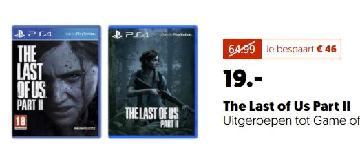[Mediamarkt Niederlande] THE LAST OF US PART II [PlayStation 4] für 19,-€