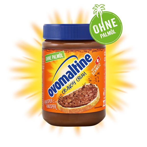 [Kaufland Do-Mi] Ovomaltine Crunchy Cream ohne Palmöl mit Coupon für 1,69€