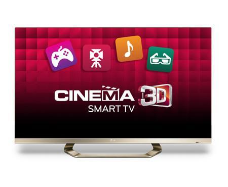 1399,-€ 55LM671  55 Zoll 3D LED TV von LG mit Polfiltertechnik Riesling Gold Edition, inkl.Brillen und Magic Remote (offline und online)