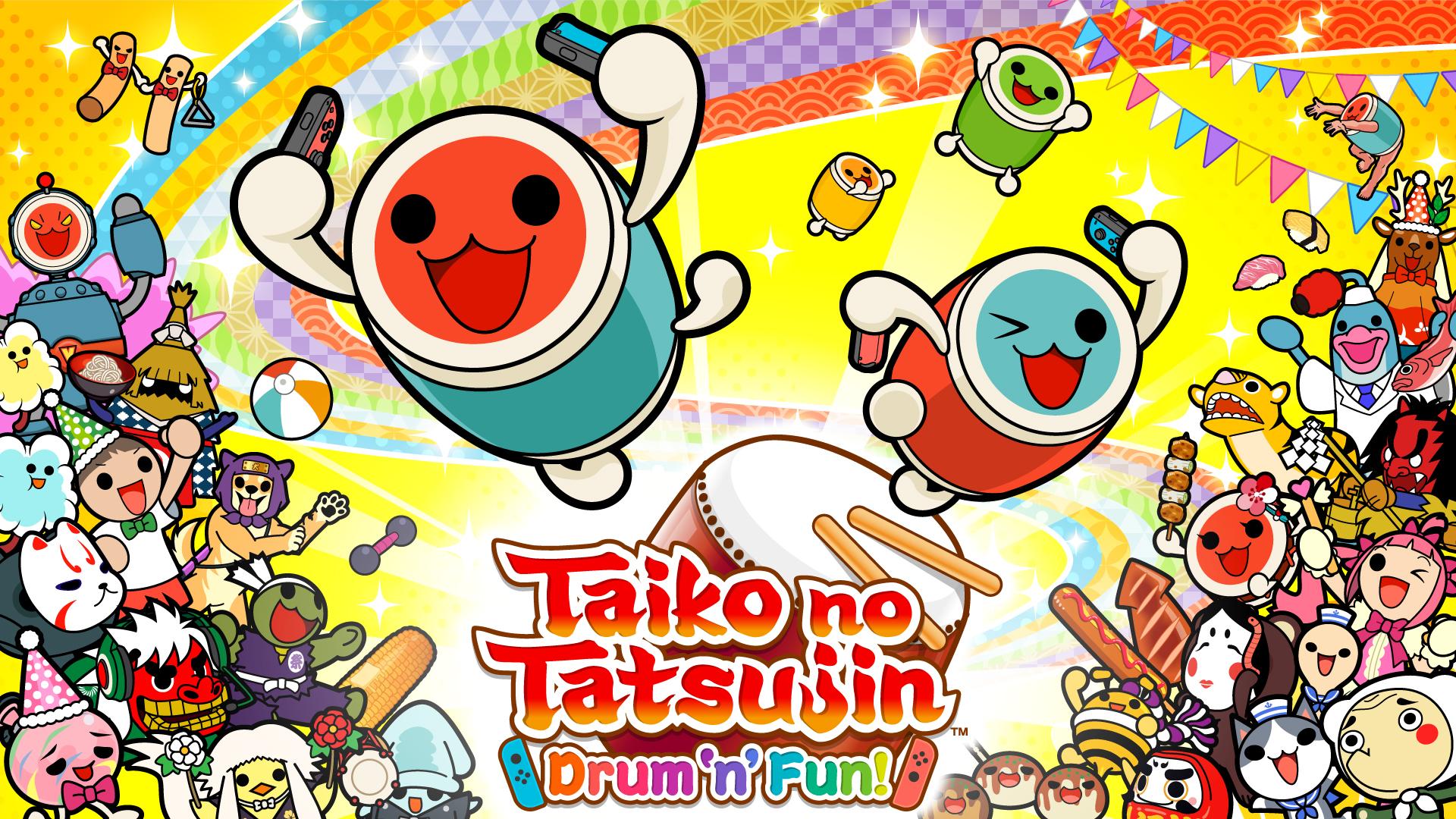 Taiko no Tatsujin: Drum 'n' Fun! Nintendo Switch eShop (US)