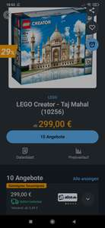 "10256 Lego Taj Mahal Selten"""
