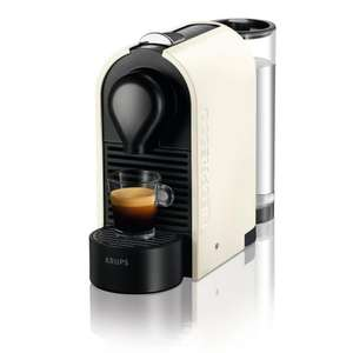 Krups XN 2501 Nespresso U Kapselmaschine in Pure Cream @ DealClub - 3 % Qipu