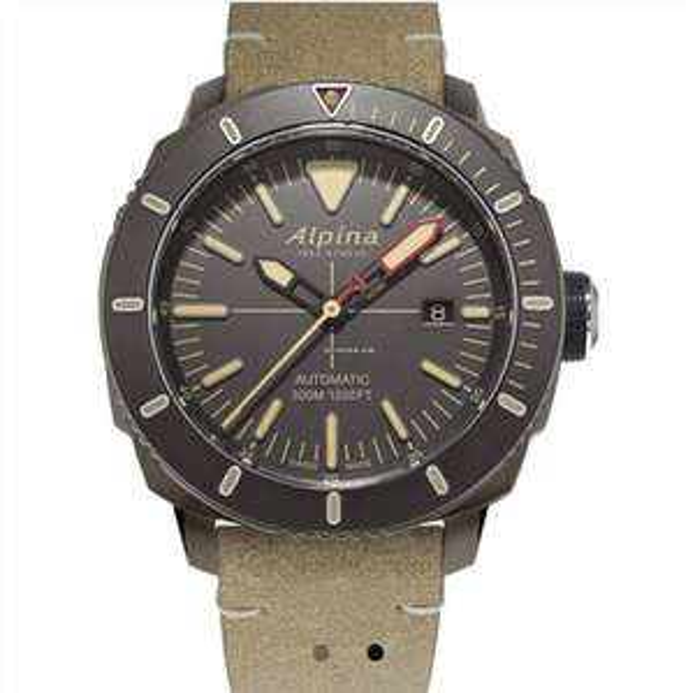 Alpina Seastrong Diver 300 AL-525LGG4TV6 Uhr
