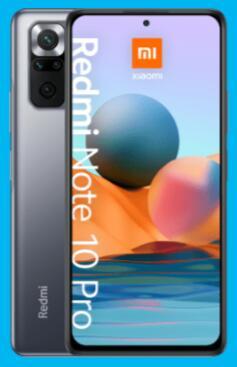 Xiaomi Redmi Note 10 Pro 128GB für 1€ einmalig, 16,99€ monatlich im Blau Allnet Flat M 4GB LTE + 25€ Shoop