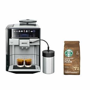 Siemens TE657M03DE Kaffeevollautomat zusammen mit 200g Nestle Starbucks Pike Place Roast für 799,99€ inkl. Versand.