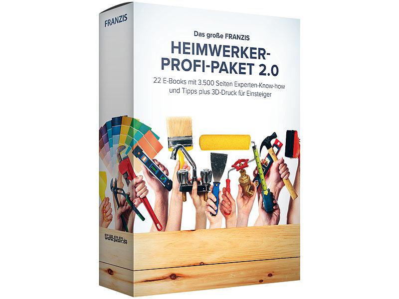 Das große FRANZIS Heimwerker Profi-E-Book-Paket 2.0 ( Format: PDF, über 3.500 Seiten, 22 Fachbücher, Sofortdownload)