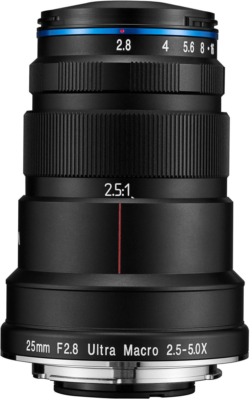 Laowa 25mm F2.8 Ultra Macro 2,5-5x Objektiv für Canon EF-Mount