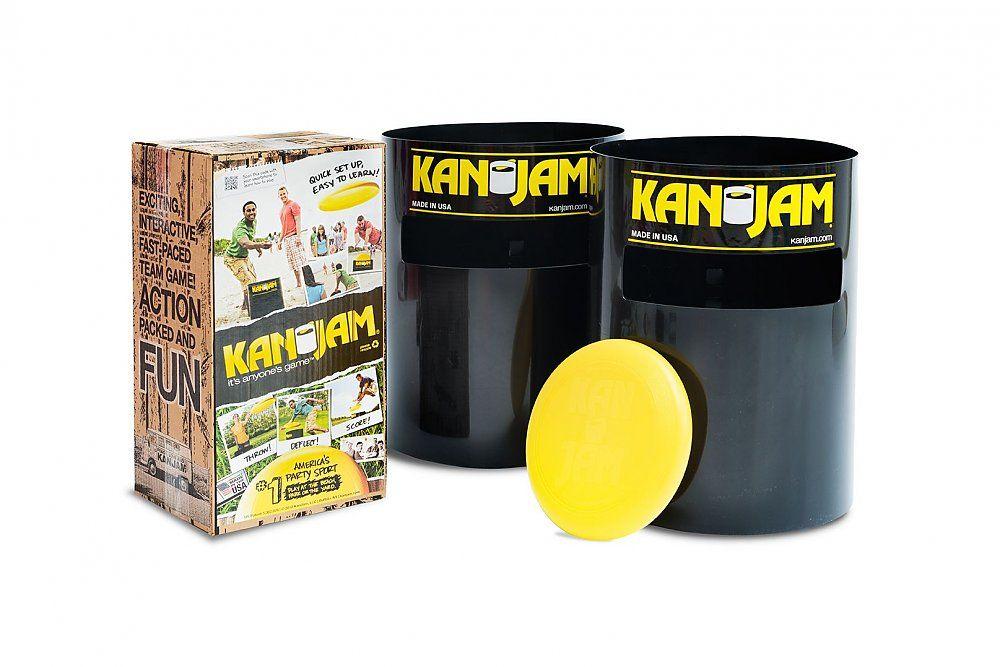 [ Fansport24.de ] Kan Jam Game Set - Frisbee Spiel / Ultimate Disc Game Set / Tragbares & einfach aufbaubares Spiel für draußen ( neuer BP )