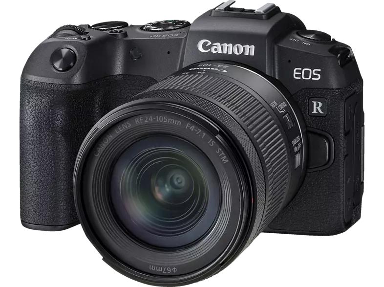 CANON EOS RP Kit Systemkamera mit Objektiv 24-105 mm, 7,5 cm Display Touchscreen WLAN für 1101€ inkl. Versandkosten