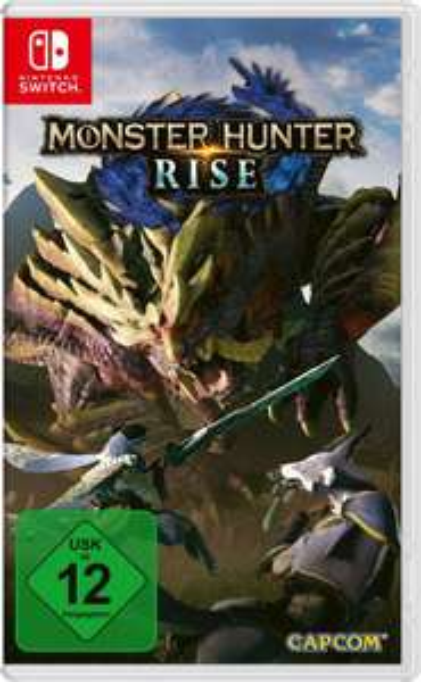 Monster Hunter Rise (Switch) für 32,99€ mit Neukundengutschein (ohne: 47,99€)