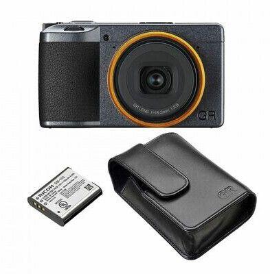 Ricoh GR III Street Edition Kompaktkamera inkl. Akku DB 110 & Tasche GC-9
