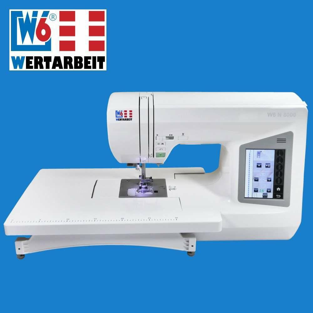 W6 Nähmaschine N 8000 V2