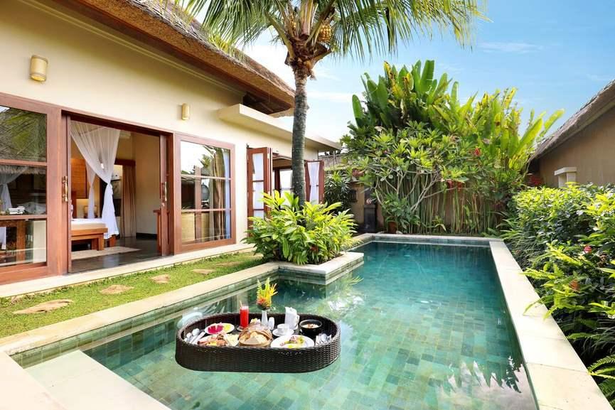 Bali, Indonesien: 7 Nächte - 250m² Pool-Villa inkl. Frühstück - Ubud Nyuh Bali Resort & Spa Bali / gratis Storno / bis Dezember 2022