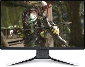 "Dell Alienware AW2521HFL Monitor (24.5"", IPS, FHD, 240Hz, FreeSync, 400cd/m², 99% sRGB, 2x HDMI 2.0, DP 1.2, 4x USB-A 3.0, Höhe & Pivot)"