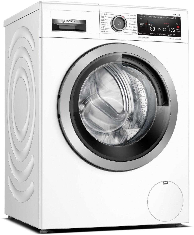Bosch WAX28M42 Waschmaschine (EEK C, 9kg, 1400U/min, Fleckenautomatik, Nachlegefunktion, AquaStop, Trommelbeleuchtung, WLAN, App)