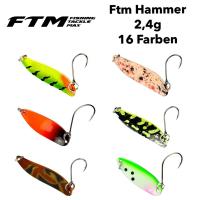 """FTM Spoons z.B. """"Hammer"""" für 2,95€! Forellen Angeln Köder"""