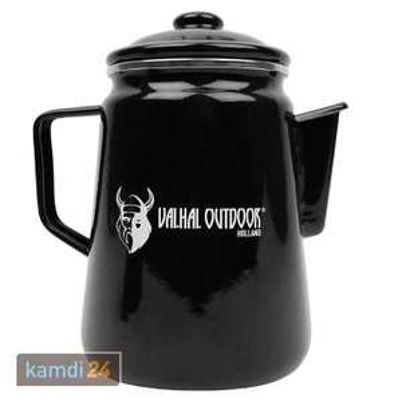 (Kamdi24) Valhal Outdoor Perkolator 1,7L Lagerfeuer-/Herdkaffeebereiter