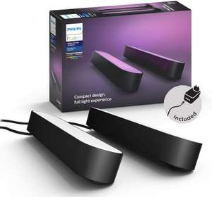Philips Hue White and Color Ambiance Play Lightbar Doppelpack - Schwarz