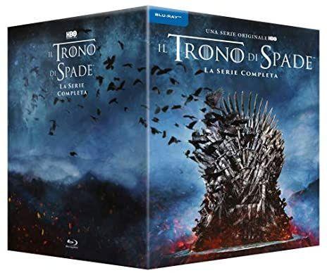 Game Of Thrones Staffel 1-8 Blu-Ray Box [Amazon.it]