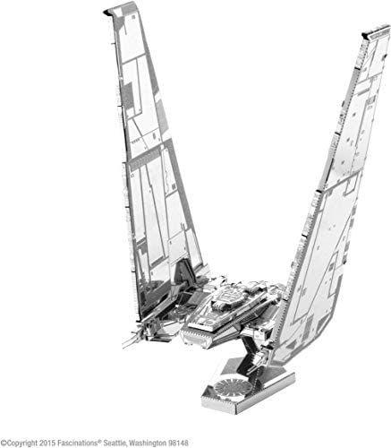Metal Earth Star Wars Kylo Ren's Command Shuttle, Konstruktionsspielzeug, 2 Metallplatinen, ab 14 J. [Amazon Prime]