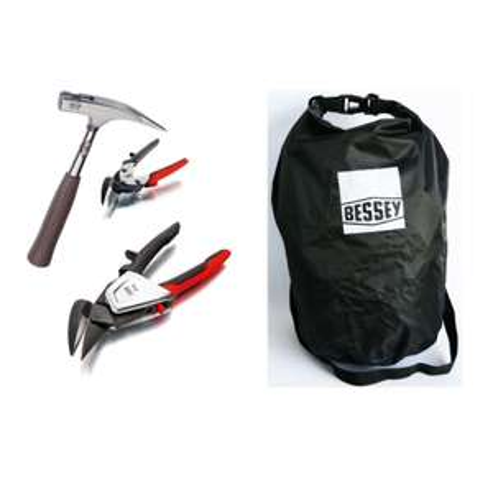 BESSEY Werkzeugset Seesack + Erdi DSET39-15A + Picard Hammer