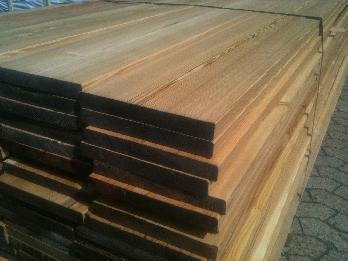 Profilholz Sibirische Lärche Glattkant (KD - 2.Wahl)